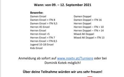 Tennis Meister Tour – 2. Traisen Open